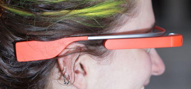 Google Glass Head Picture